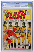 Silver Age (1956-1969):Superhero, The Flash #105 Mohawk Valley pedigree (DC, 1959) CGC FN/VF 7.0 Cream to off-white pages....