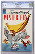 Golden Age (1938-1955):Cartoon Character, Dell Giant Comics Tom and Jerry Winter Fun #3 File Copy (Dell, 1954) CGC NM 9.4 Off-white pages....