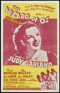 """The Wizard of Oz (MGM, R-1955). One Sheet (27"""" X 41""""). Musical"""