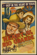 """Movie Posters:Western, Heart of the Rio Grande (Republic, 1942). One Sheet (27"""" X 41""""). Western...."""