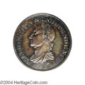 Colonials: , 1783 1C Washington & Independence Cent, Draped Bust, Silver ...