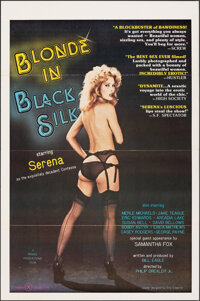 "Blonde in Black Silk & Other Lot (Praexis, 1979). Flat Folded, Very Fine-. One Sheets (2) (27"" X 41""). Adu..."