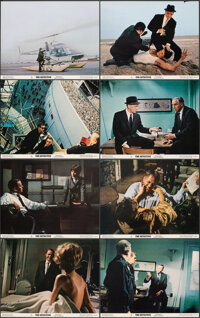 """The Detective (20th Century Fox, 1968). Very Fine/Near Mint. Glossy Deluxe Lobby Card Set of 8 (11"""" X 14""""). Cr..."""