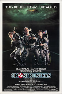 "Ghostbusters (Columbia, 1984). Folded, Very Fine+. One Sheet (27"" X 41""). Comedy"