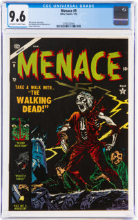 Menace #9 (Atlas, 1954) CGC NM+ 9.6 Off-white to white pages