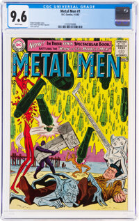 Metal Men #1 (DC, 1963) CGC NM+ 9.6 White pages