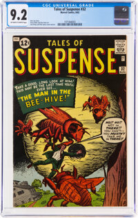 Tales of Suspense #32 (Marvel, 1962) CGC NM- 9.2 Off-white to white pages