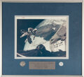 Explorers:Space Exploration, Gemini 4 Flown Fliteline Medallion and Mustard Seed, in a ...