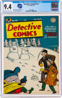 Detective Comics #119 (DC, 1947) CGC NM 9.4 Off-white to white pages