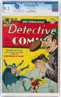 Golden Age (1938-1955):Superhero, Detective Comics #82 Rockford Pedigree (DC, 1943) CGC NM- ...