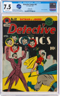 Golden Age (1938-1955):Superhero, Detective Comics #62 Crowley Copy Pedigree (DC, 1942) CGC ...