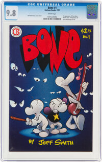 Bone #1 (Cartoon Books, 1991) CGC NM/MT 9.8 White pages