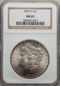 Morgan Dollars: , 1899-O $1 MS65 NGC. NGC Census: (8718/1326). PCGS Population: (9035/1856). CDN: $130 Whsle. Bid for NGC/PCGS MS65. Mintage ...