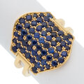 Estate Jewelry:Rings, Sapphire, Gold Ring, Reign. ...