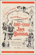 """Movie Posters:Comedy, Jack and the Beanstalk & Other (Warner Bros., 1952). Folded, Overall: Fine-. Military One Sheet & One Sheet (27"""" X 41""""). Com... (Total: 2 Items)"""