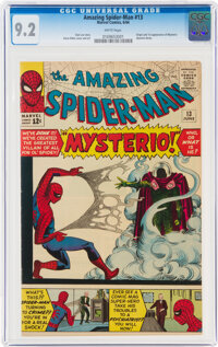 The Amazing Spider-Man #13 (Marvel, 1964) CGC NM- 9.2 White pages