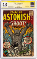 Silver Age (1956-1969):Science Fiction, Tales to Astonish #13 Signature Series: Stan Lee (Atlas,1960) CGC VG 4.0 Cream to off-white pages....