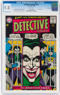 Detective Comics #332 Pacific Coast Pedigree (DC, 1964) CGC NM/MT 9.8 White pages
