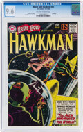 Silver Age (1956-1969):Superhero, The Brave and the Bold #44 Hawkman (DC, 1962) CGC NM+ 9.6 Off-white to white pages....