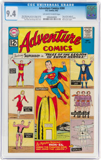 Adventure Comics #300 (DC, 1962) CGC NM 9.4 Off-white to white pages