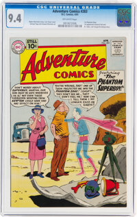 Adventure Comics #283 (DC, 1961) CGC NM 9.4 Off-white pages