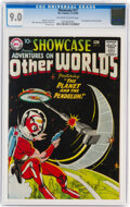 Silver Age (1956-1969):Science Fiction, Showcase #17 Adam Strange (DC, 1958) CGC VF/NM 9.0 Off-white to white pages....