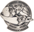 Explorers:Space Exploration, Space Shuttle Challenger (STS-51L) Unflown Silver Robbins Medallion Serial Number 263....