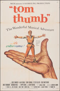 """Movie Posters:Fantasy, Tom Thumb (MGM, 1958). Folded, Overall: Fine/Very Fine. Identical One Sheets (2) (27"""" X 41""""). Fantasy.. ... (Total: 2 Items)"""