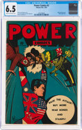 Golden Age (1938-1955):Superhero, Power Comics #2 (Holyoke Publications, 1944) CGC FN+ 6.5 Cream to off-white pages....