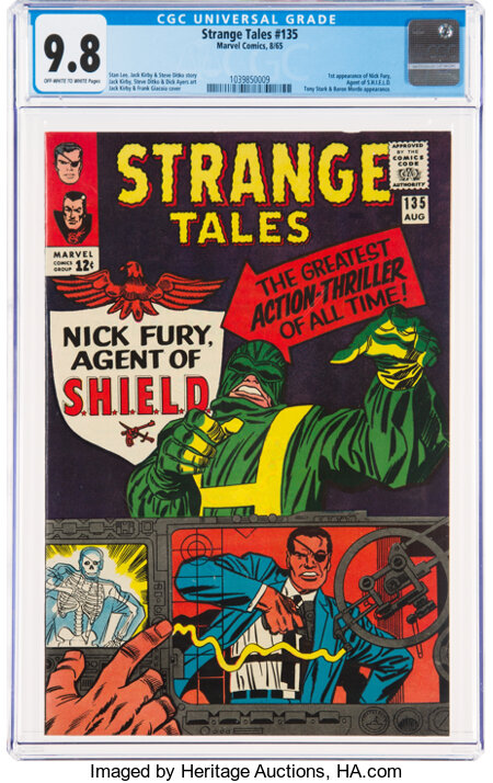 Strange Tales #135 (Marvel, 1965) CGC NM/MT 9.8 Off-white to white pages....