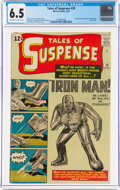 Silver Age (1956-1969):Superhero, Tales of Suspense #39 (Marvel, 1963) CGC FN+ 6.5 Off-white to white pages....