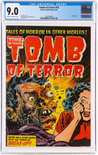 Tomb of Terror #15 (Harvey, 1954) CGC VF/NM 9.0 Cream to off-white pages