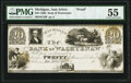 Obsoletes By State:Michigan, Ann Arbor, MI- Bank of Washtenaw $20 18__ G18 Proof PMG About Uncirculated 55.. ...