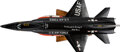 """Explorers:Space Exploration, North American X-15A-2: Bill Dana, William """"Pete"""" Knight, and Robert White Signed Custom Made Aircraft Model. ..."""