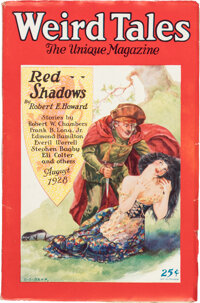 Weird Tales - August 1928 (Popular Fiction) Condition: VF