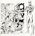 Original Comic Art:Covers, Rich Buckler Amazing Spider-Man: Mark of the Man-Wolf Unused Book & Record Re-Release Cover ...