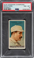 Baseball Cards:Singles (Pre-1930), 1888 N162 Goodwin Champions Brouthers PSA NM-MT 8 - Pop Two, None Higher. ...