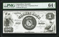 Obsoletes By State:Connecticut, Norwich, CT- Thames Bank $1 Jan. 2, 1860 as G1 Pro...