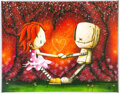 Original Comic Art:Miscellaneous, Fabio Napoleoni Together Forever & Ever Print 35/98 Original Art (undated)....