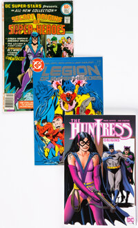 Paul Levitz Autographed DC Comics Group of 3 (DC, 1980s).... (Total: 3 Comic Books)