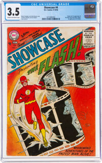 Showcase #4 The Flash (DC, 1956) CGC VG- 3.5 Cream to off-white pages