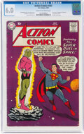 Silver Age (1956-1969):Superhero, Action Comics #242 (DC, 1958) CGC FN 6.0 Cream to off-white pages....