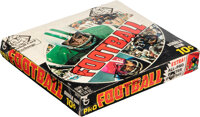 1970 Topps Football Series 1 Wax Box With 24 Unopened Packs!