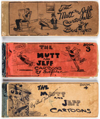 Mutt and Jeff by Bud Fisher Newspaper Strip Reprint Books Group of 3 (Ball Publications, 1914-15).... (Total: 3 Comic Bo...