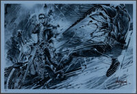 Terminator 2: Judgment Day (Bottleneck, 2013). Rolled, Near Mint-. Signed and Hand Numbered Limited Edition Silver Foil...