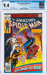 The Amazing Spider-Man #184 (Marvel, 1978) CGC NM 9.4 White pages
