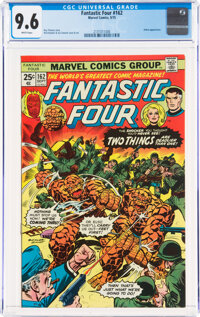 Fantastic Four #162 (Marvel, 1975) CGC NM+ 9.6 White pages