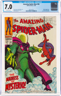 The Amazing Spider-Man #66 (Marvel, 1968) CGC FN/VF 7.0 Off-white pages
