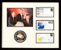 Explorers:Space Exploration, Apollo 13: Three Individually-Signed Mission Event Covers with Crew Color Photo and Embroidered Mission Insignia Patch in Fram...