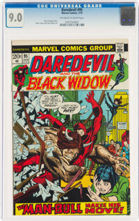 Daredevil #95 (Marvel, 1973) CGC VF/NM 9.0 Off-white to white pages
